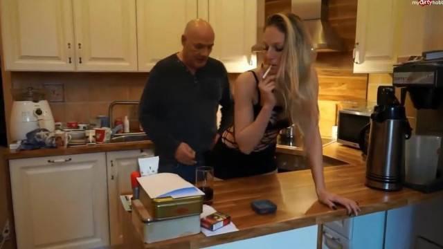 Kitchen Smoke Sex
