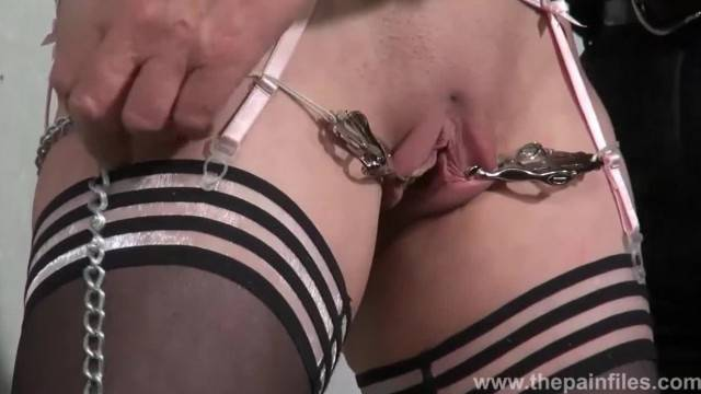 Blonde Slave Taylor Hearts Tit Torments and Kinky Bondage of Punished Submi