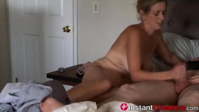 Sneaky Cheating Wife Fucks her Husband s best Friend