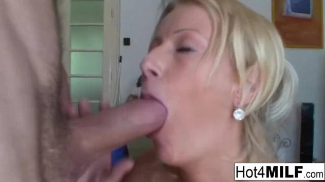 Busty MILF Agnes wants to Fuck now