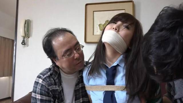 Japanese Detective Tied up and caressed