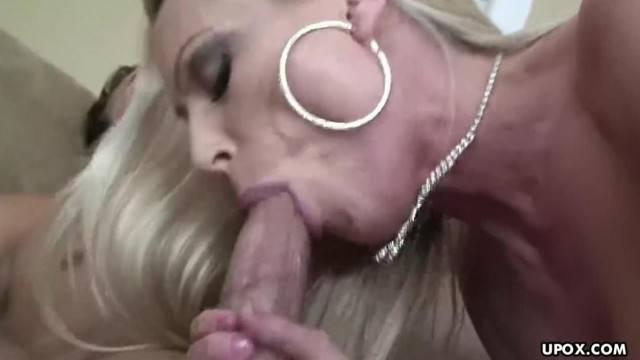 Dianna is a Blonde Luxurious Bitch getting Sideways Fucked