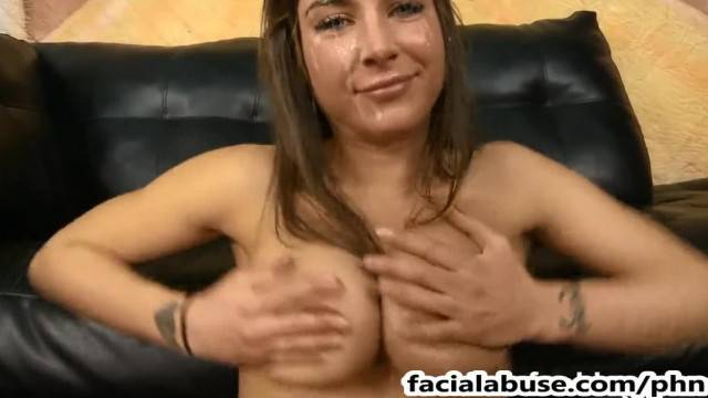 Felicity Feline Face Fucked in her Roughest Scene ever