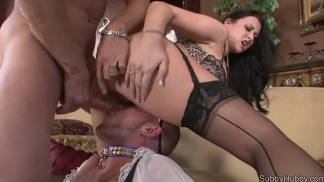 Slave assists couple