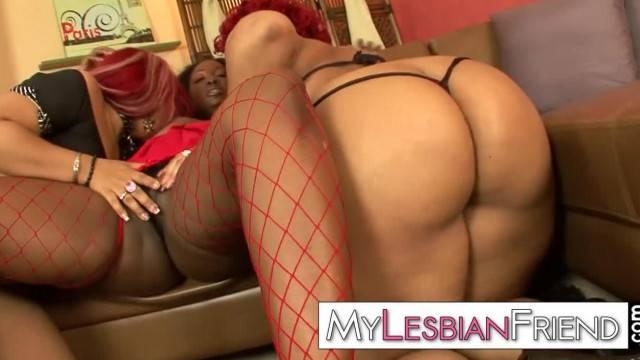 Black Lesbian Sistas Trio