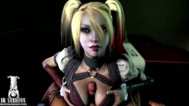 Harley Quinn Comp 2 Cumshot Crazy