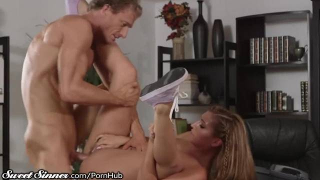 SweetSinner Passionate Hot Sex with her College Prof