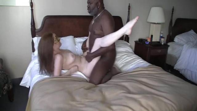 Masked Slimmilf makes the most of her Time with a BBC