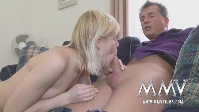 Sweet German Teen loves mature cocks