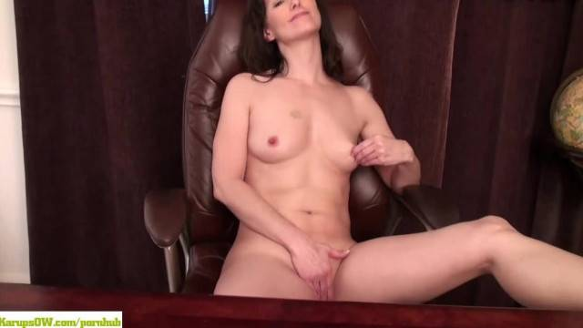 Shelly Jones Office Masturbation
