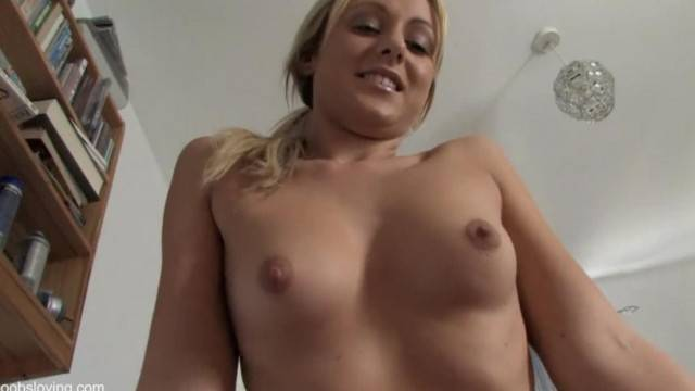 Blonde Bounces on your Cock Virtual Sex