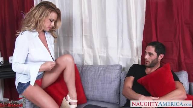 Blondie in White Shirt Corinna Blake Fucking