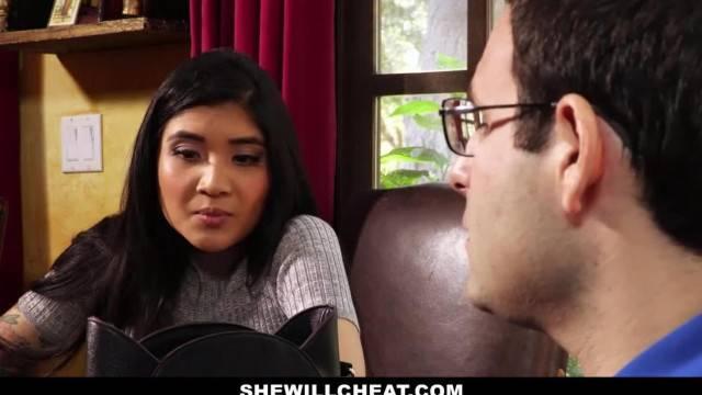 SheWillCheat Hot Wife Brenna Sparks Fuck Boy Toy