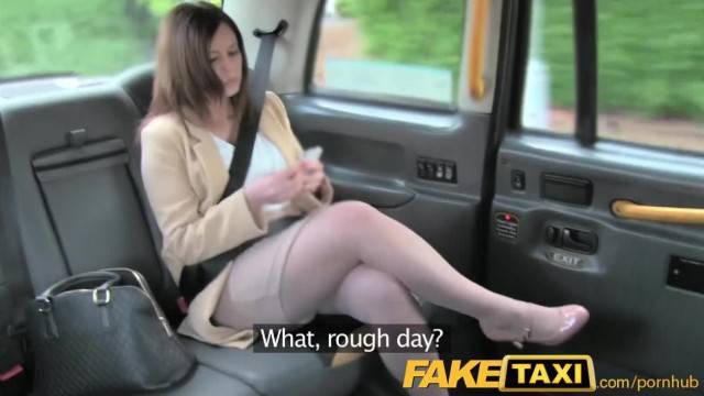 FakeTaxi Office Romance Revenge with London Cab Driver