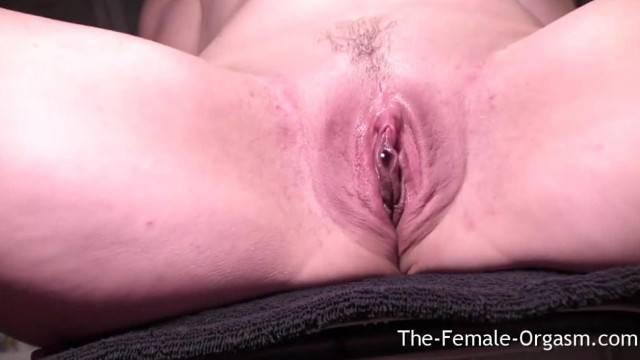 Selfie Masturbating Dripping Wet Pussy to Multiple Pulsating Orgasms