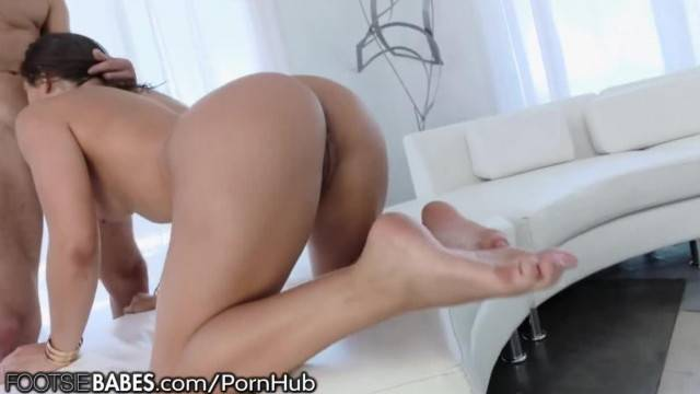 FootsieBabes Abella Danger Anal Footworship