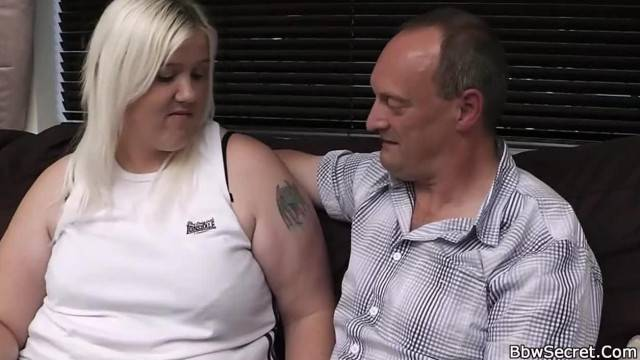 Chubby Blonde Spreads Legs for Married Husband
