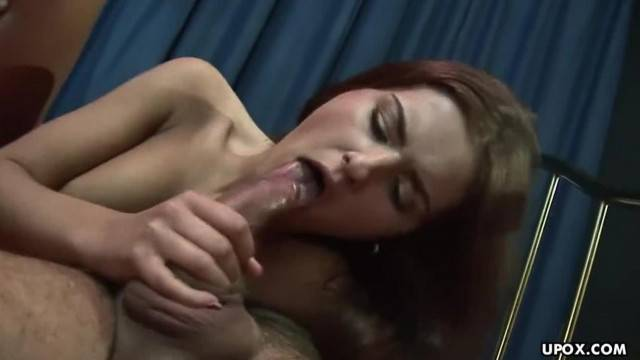 Fiery Redhead got all her Holes Drilled in a Threesome