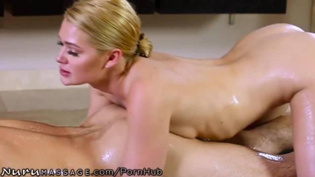 Lucky Guy gets the Full Service Nuru Massage