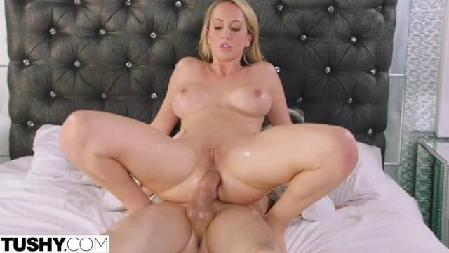 TUSHY Brett Rossi comes back for some more Intense Anal