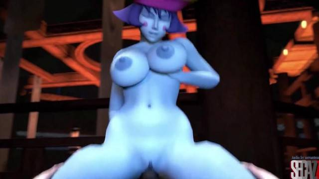 Busty sex game characters fucking compilation