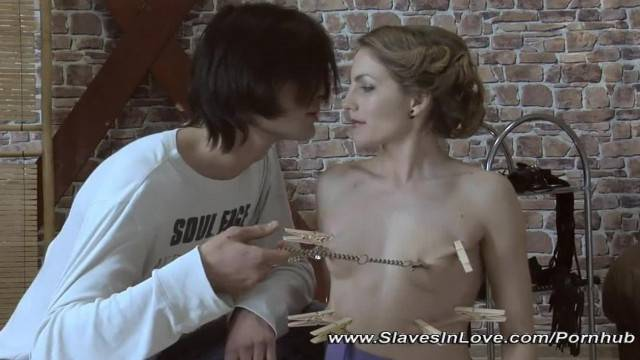 Master Tames his Slave Girl