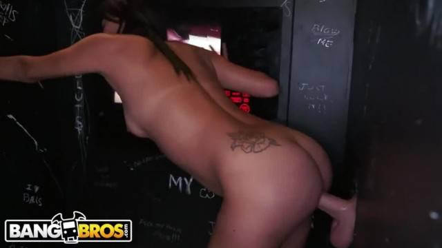 BANGBROS Petite Latina Jade Jantzen Sucking Random Dicks