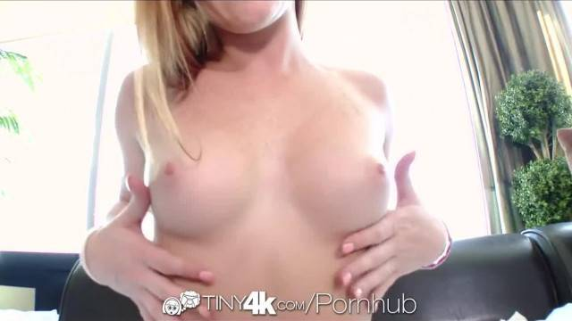 Tiny4K Tiny Alex wants Huge Cock in her Tight Teen Pussy