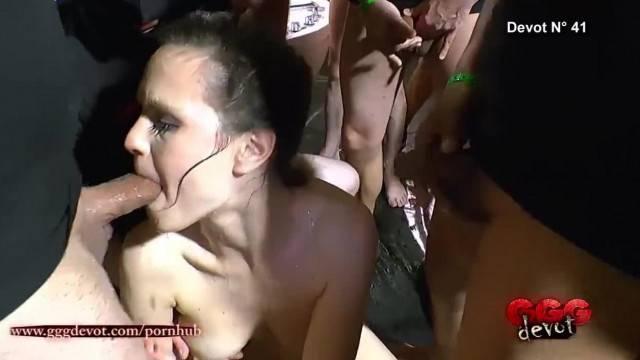 Little Pee Lover Gangbang