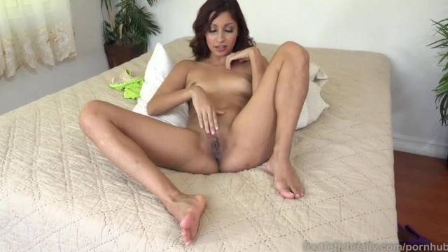 Naughty Jade Jantzen fingers her pussy until she orgasms
