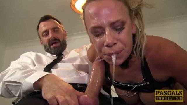 BDSM hardcore anal drill and face fuck with MILF slave
