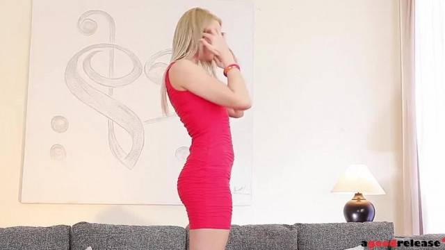 Viktoria Diamond Fucked Hard By Her Husband In Her Red Dress