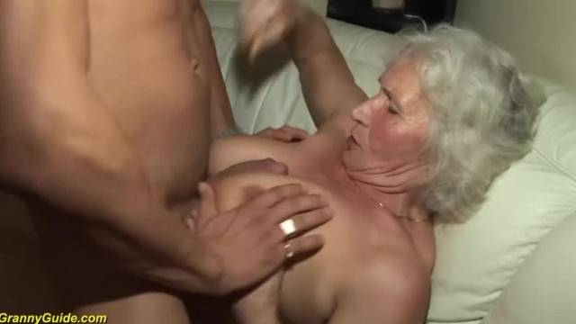 80 year old granny sucking cock taking it deepthrot and swallowing cum