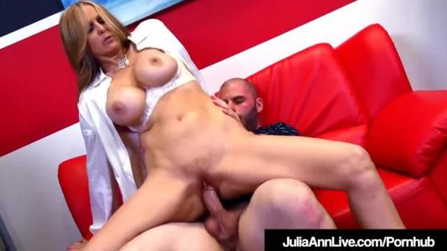 Sexual training with stunning MILF teacher Julia Ann