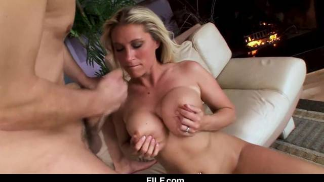 Devon Lee wants her Stepnephew to Cum on her Tits