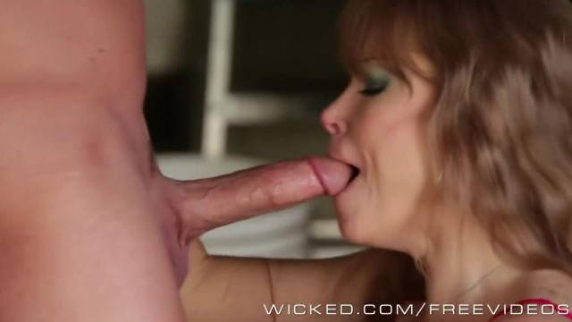 Wicked Trashy MILF Darla Crane Takes a Big Load