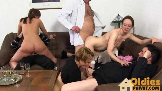 Swingers Amateur Party with kinky wives