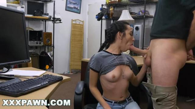 Kiley Jay Fucked In The Back Of The Pawn Shop