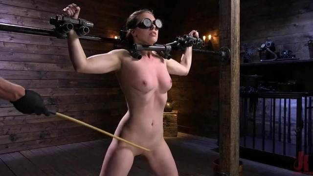 Rough pussy punishment for BDSM lover Casey Calvert