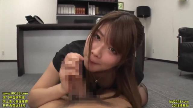 Office POV fantasy with naughty asian secretary