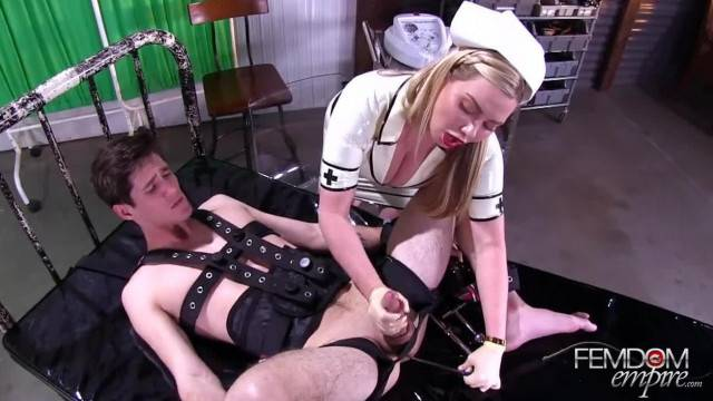 Anal punishment and CEI for immobilized slave