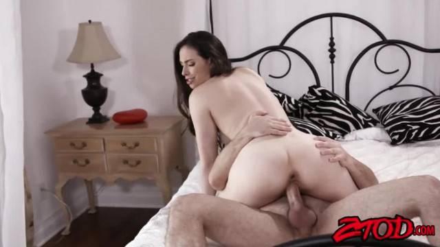 Gorgeous Casey Calvert opens wide her tiny ass