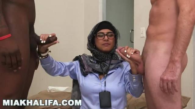 MIA KHALIFA my Experiment Comparing Black Dicks to White Dicks