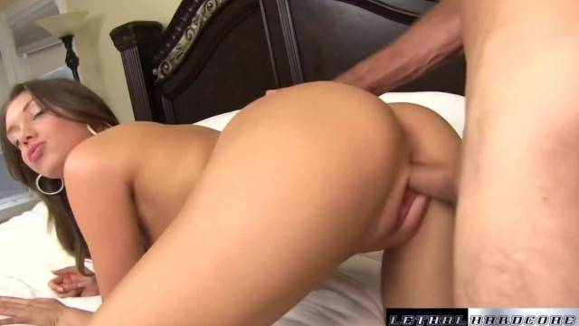 Sweet Elena Koshka craves her step brother big cock