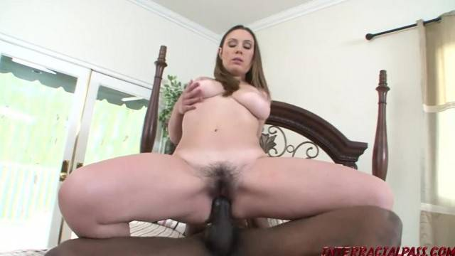 Kinky MILF Rucca Page gets her furry twat fucked by BBC