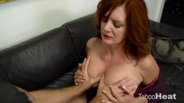 Real mature has her old pussy stuffed with huge cock and cums