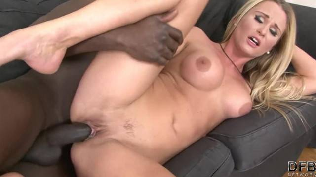 Hot Girl trying for Interracial Porn has Great Sex and Blowjob Cumshot