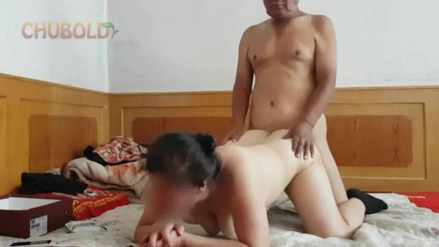 Chinese Grandpa Giving it to Grandma from behind