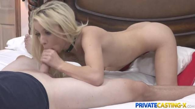Private Casting X Kenzie Reeves Blonde Fucks better than Sings