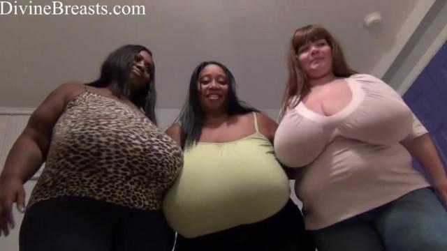 BBW Big Boobs Felt up and Big Butts Bouncing
